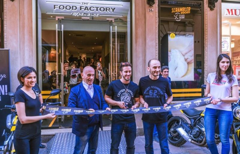 ★Ducati ボローニャにDucatiスクランブラー・フードファクトリー2号店をオープン