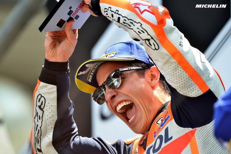 ★MotoGP2018フランスGP 優勝マルケス「いつも苦戦するル・マンでの勝利は重要」