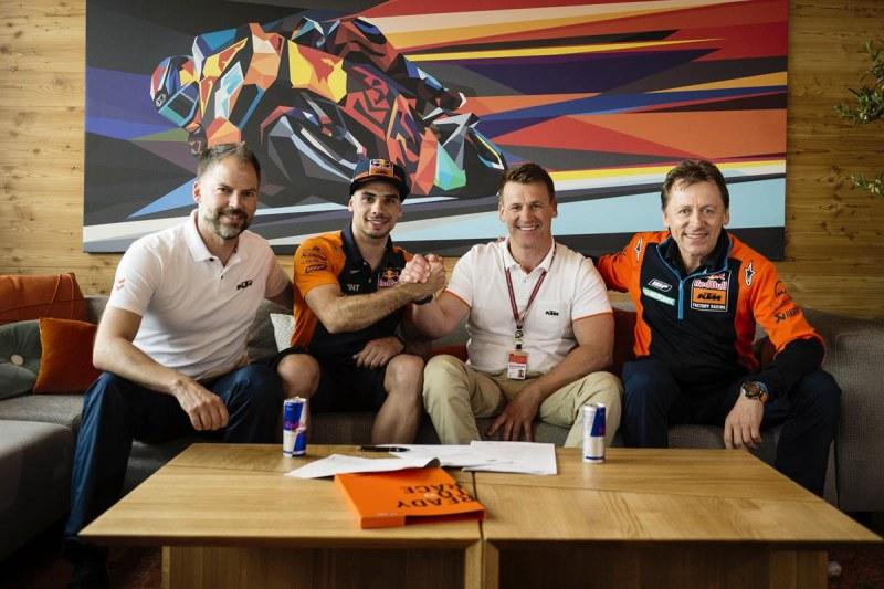★MotoGP2018ヘレスGP ミゲル・オリヴェイラ 2019年からテック3 KTMでMotoGPクラスに昇格