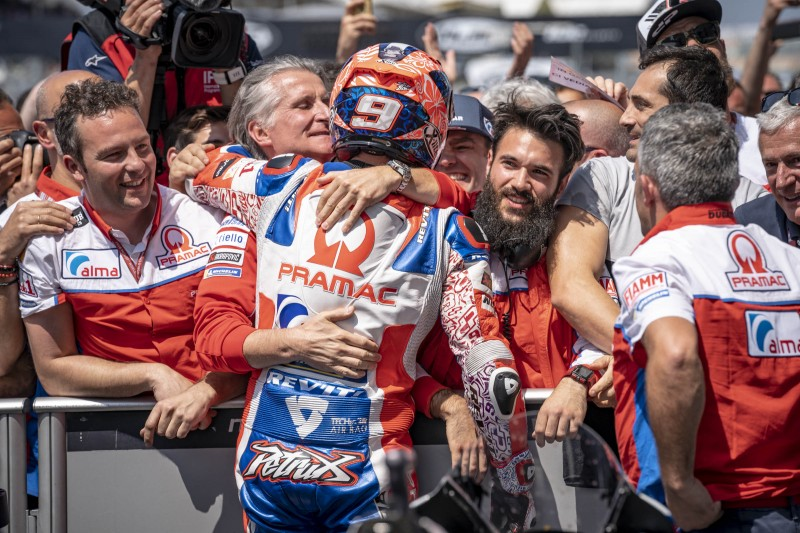 ★MotoGP2018フランスGP パオロ・チャバッティ「ダニロの走りはファクトリーDucatiにふさわしいものだった」