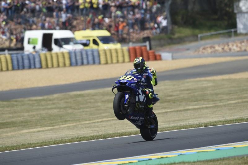 ★MotoGP2018フランスGP 3位バレンティーノ・ロッシ「バイクをさらに改善していきたい」
