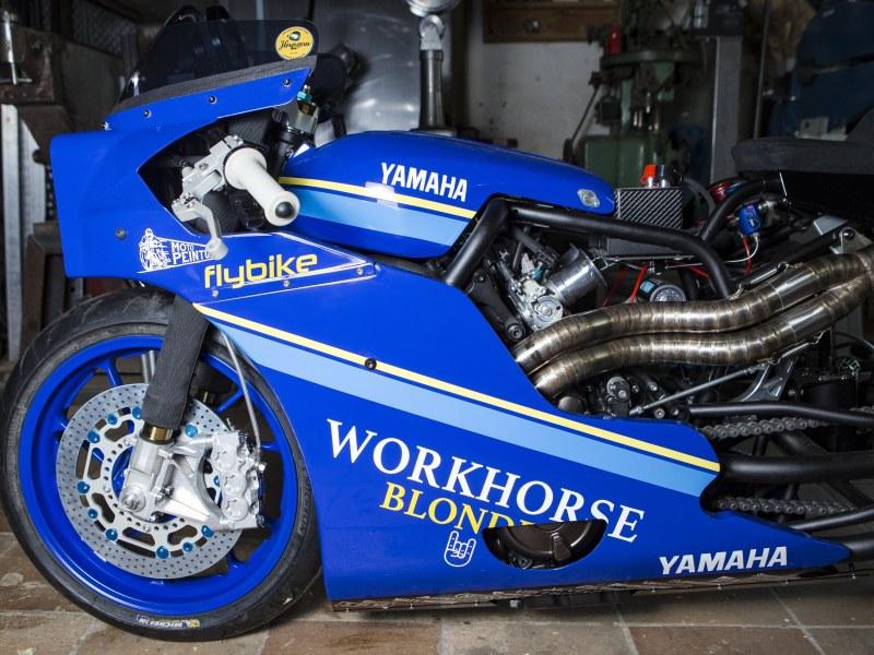 ★ヤマハYard Built  Workhorse Speed Shop XSR700