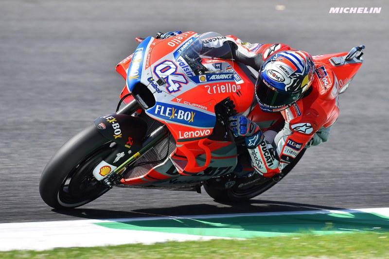 ★MotoGP2018イタリアGP 予選7位ドヴィツィオーゾ「明日は良いペースで走行出来る」