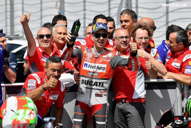 ★MotoGP2018イタリアGP 予選2位ロレンソ「良いペースで走れることをレースで証明しないといけない」