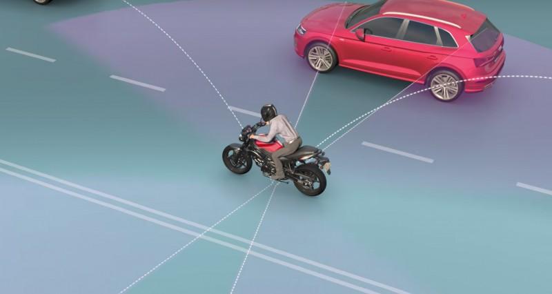 ★イスラエル企業RideVision バイク向け危険予知システムを発表