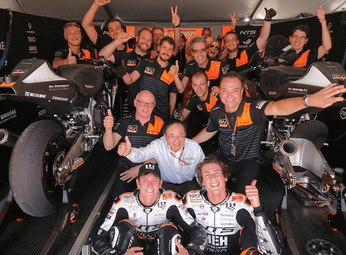 ★NTS RW RACING GP がイタリア GP で記念すべき世界グランプリ初ポイントを獲得