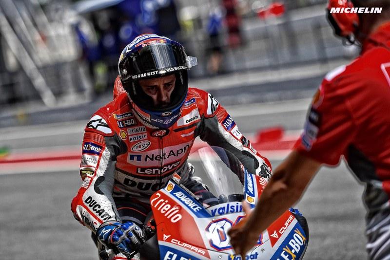 ★MotoGP2018オランダGP ドヴィツィオーゾ「今まで以上に強い走りをしたい」