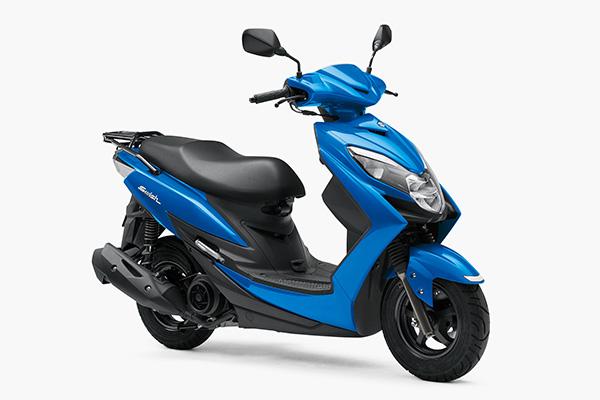 ★スズキ 125ccの上質なスクーター新型「SWISH(スウィッシュ)」を発売