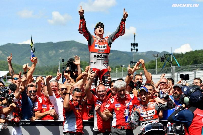 ★MotoGP2018イタリアGP ホルへ・ロレンソ Ducati初優勝ギャラリー