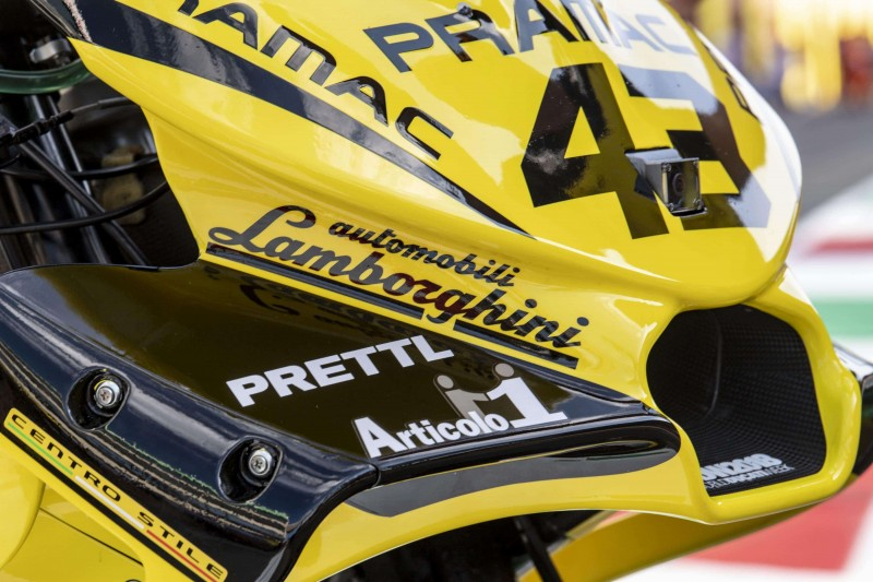 ★MotoGP2018イタリアGP Alma Pramacレーシング ランボルギーニ特別カラーで決勝レースへ