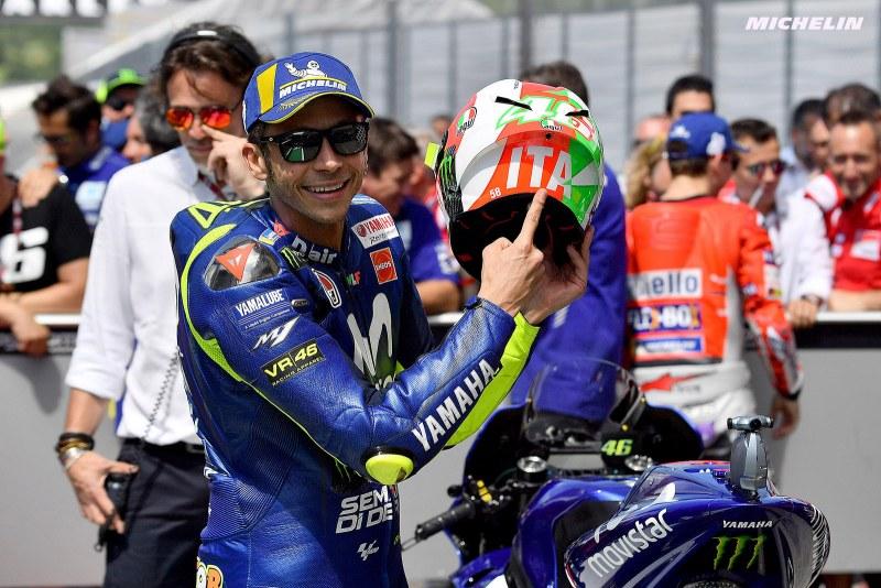 ★MotoGP2018イタリアGP 予選1位ロッシ「現時点でのペースはあまり良くない」
