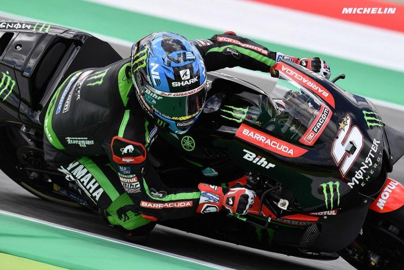 ★MotoGP2018イタリアGP 予選9位ザルコ「トップ5を獲得出来たら最高」