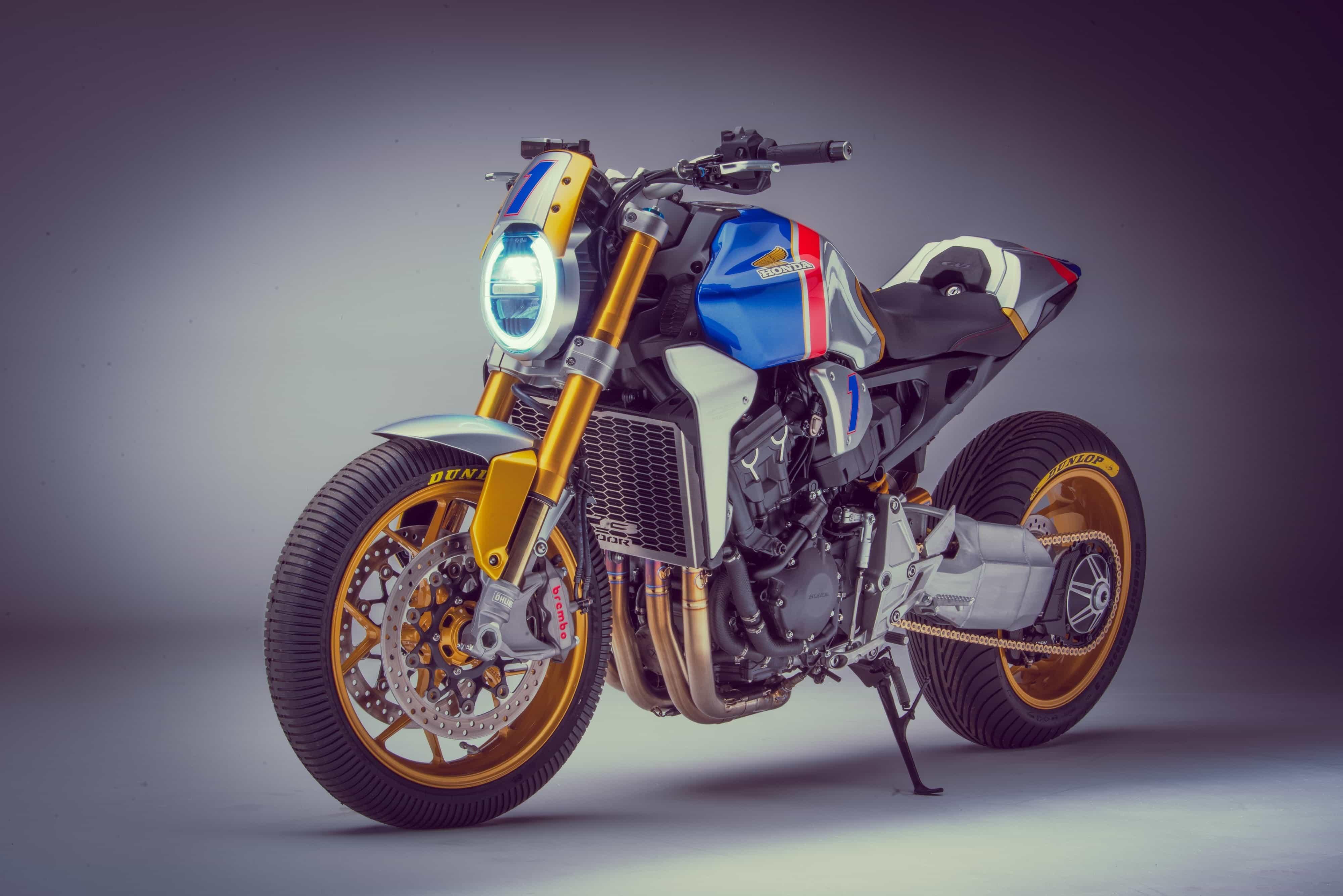★ドイツで開催されるGLEMSECK 101にホンダの新旧カスタムバイクが登場