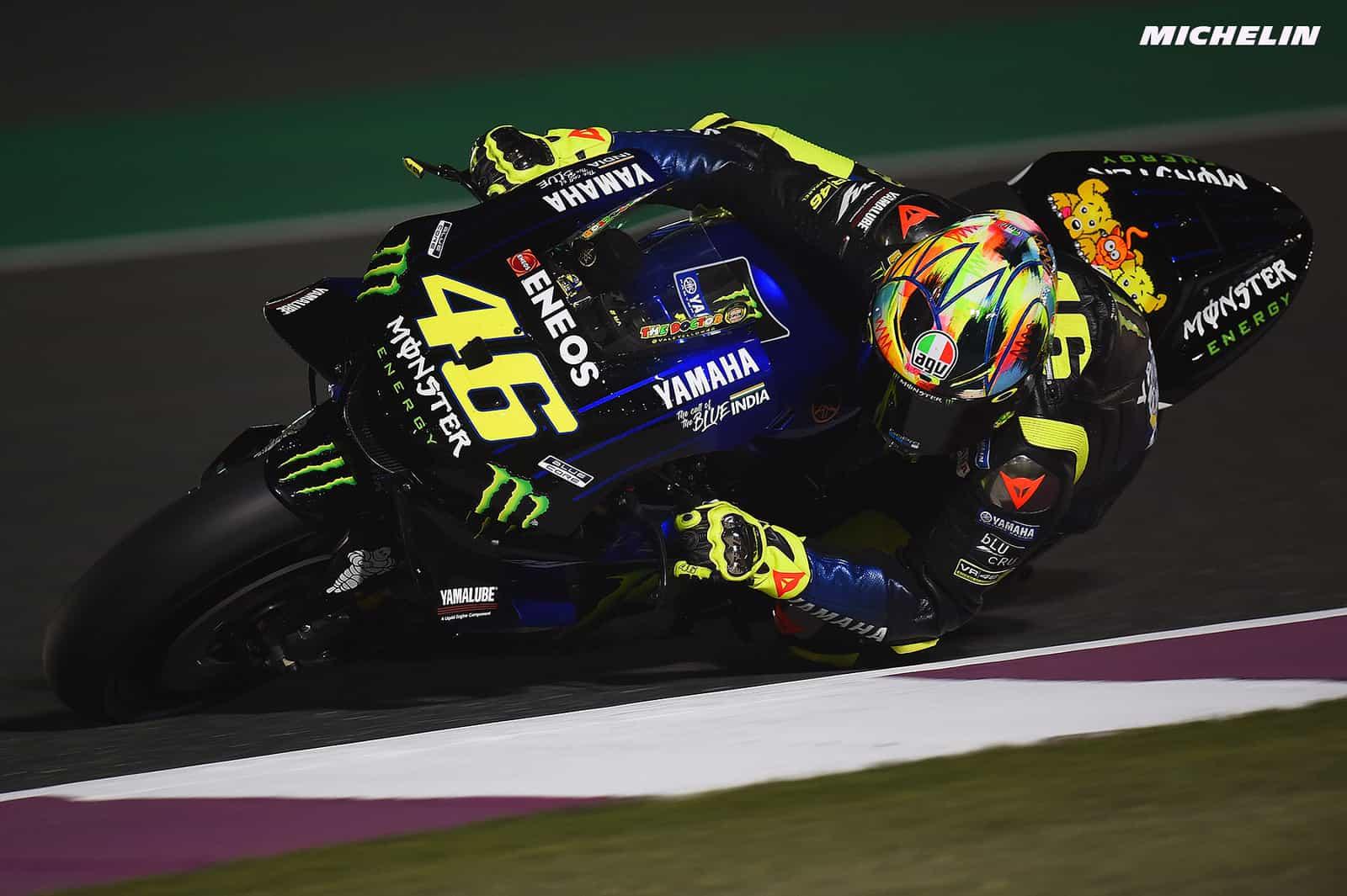 カタールテスト3日目 バレンティーノ ロッシ ストレートスピードの差が心配 気になるバイクニュース