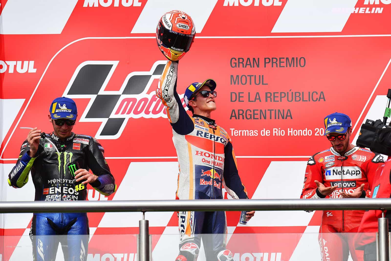 アルゼンチンGP優勝 マルケス「自分の強みは最初の5周だとわかっていた。」