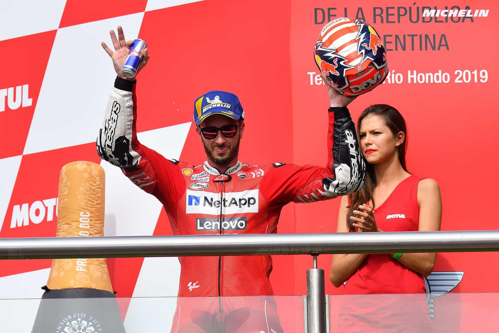 アルゼンチンGP3位 ドヴィツィオーゾ「バレンティーノに走りを研究されてしまった」