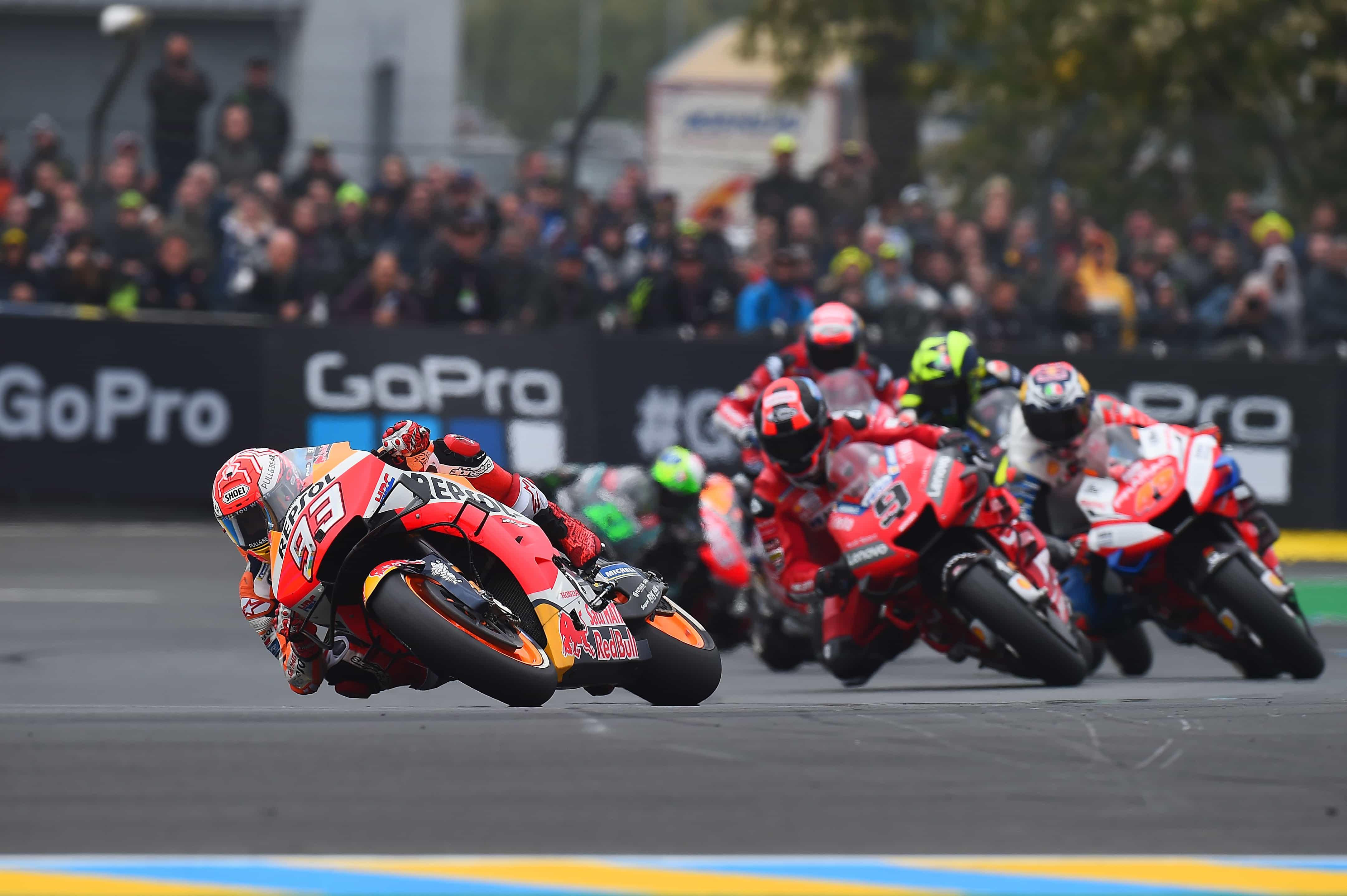 MotoGP2019ミシュラン 目まぐるしく天候が変わったル・マンですべてのコンディションに対応