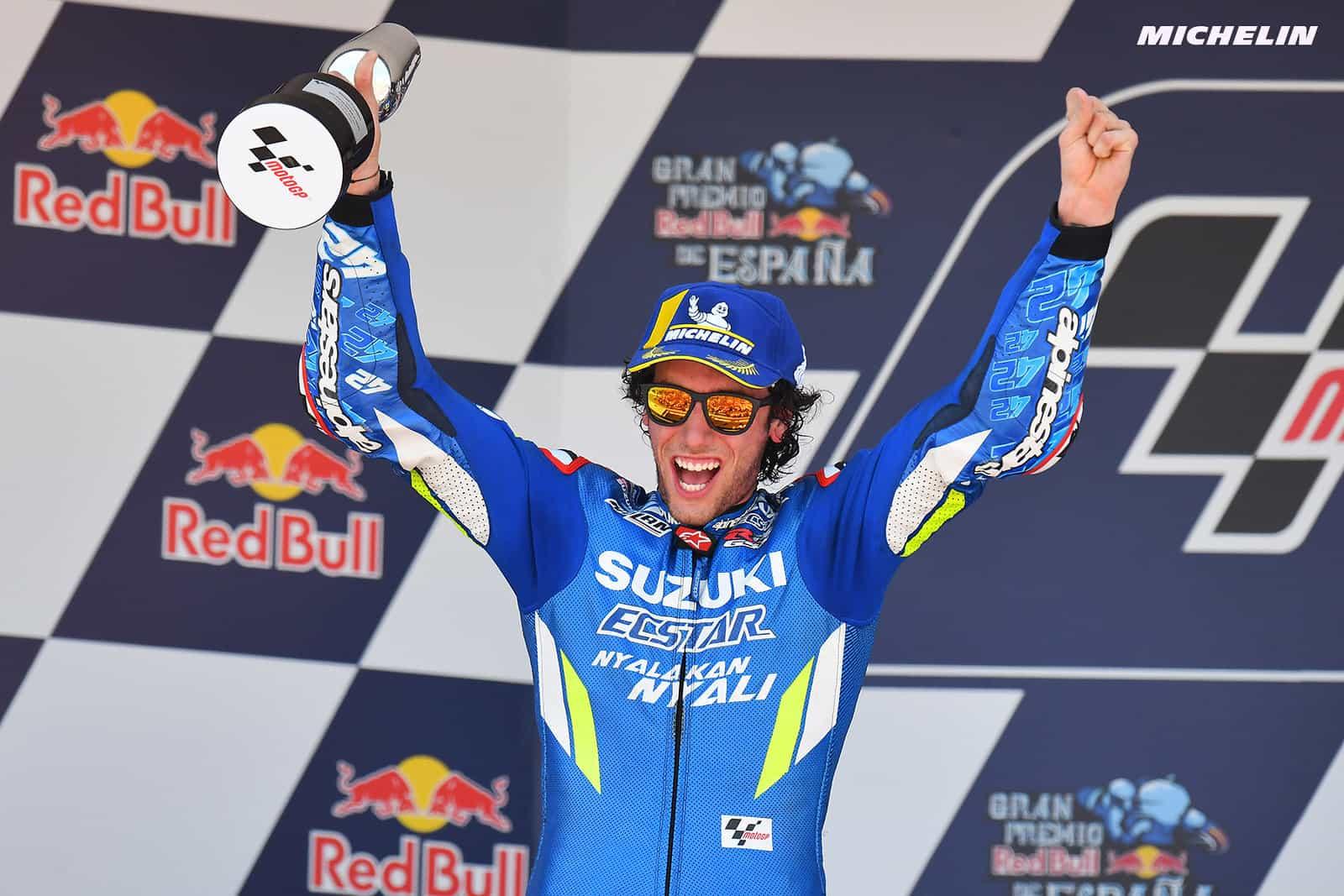 MotoGP2019ヘレスGP 2位リンス「コンスタントに良いレースを続けたい」
