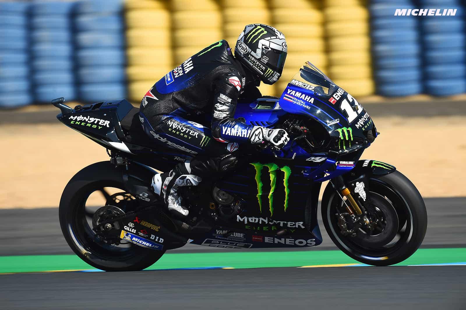 MotoGP2019フランスGP マーべリック・ビニャーレス「決断のスピードが重要になる」