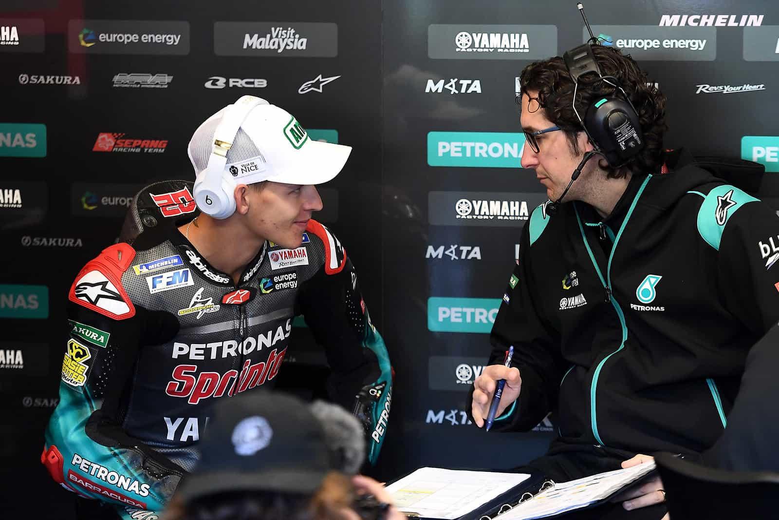 MotoGP2019フランスGP ファビオ・クアルタラロ「特にプレッシャーは感じていない」