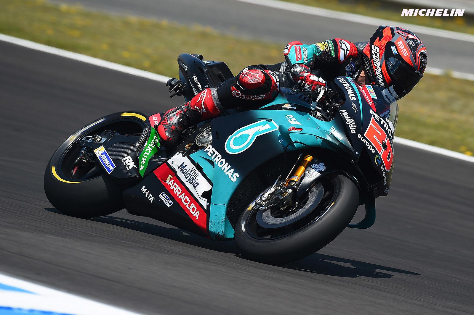 MotoGP2019フランスGP クアルタラロ「ファンが沢山のモチベーションをくれる」