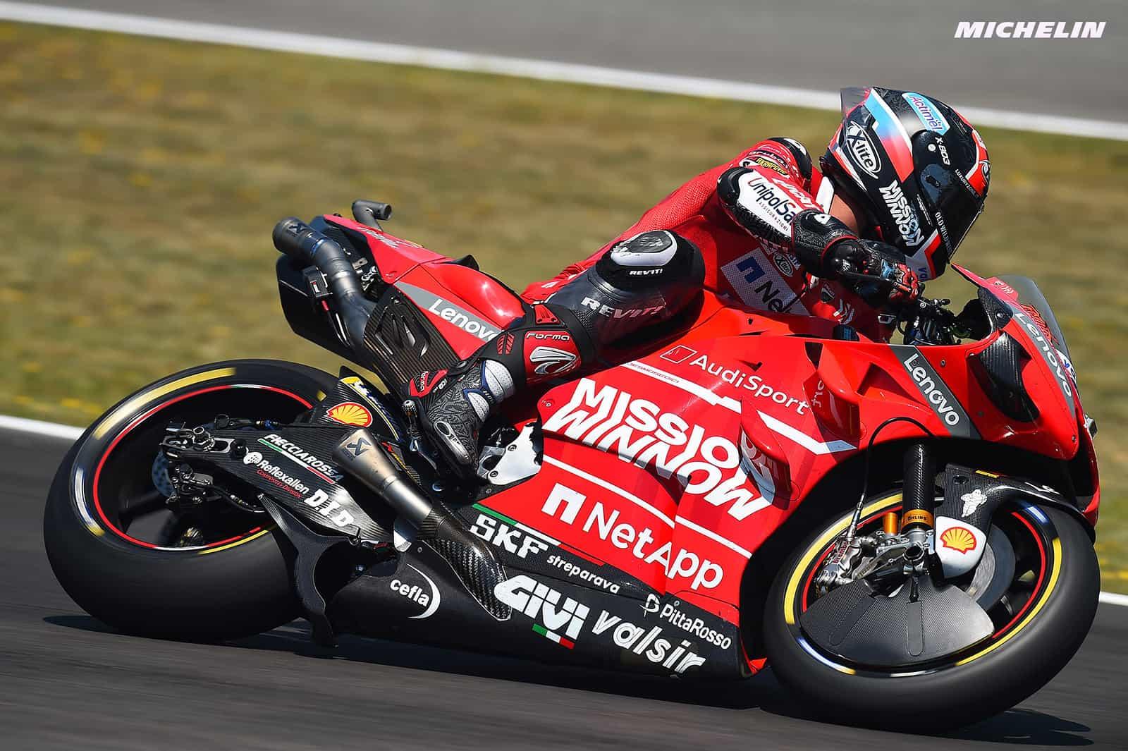 MotoGP2019フランスGP ペトルッチ「表彰台獲得が目標」