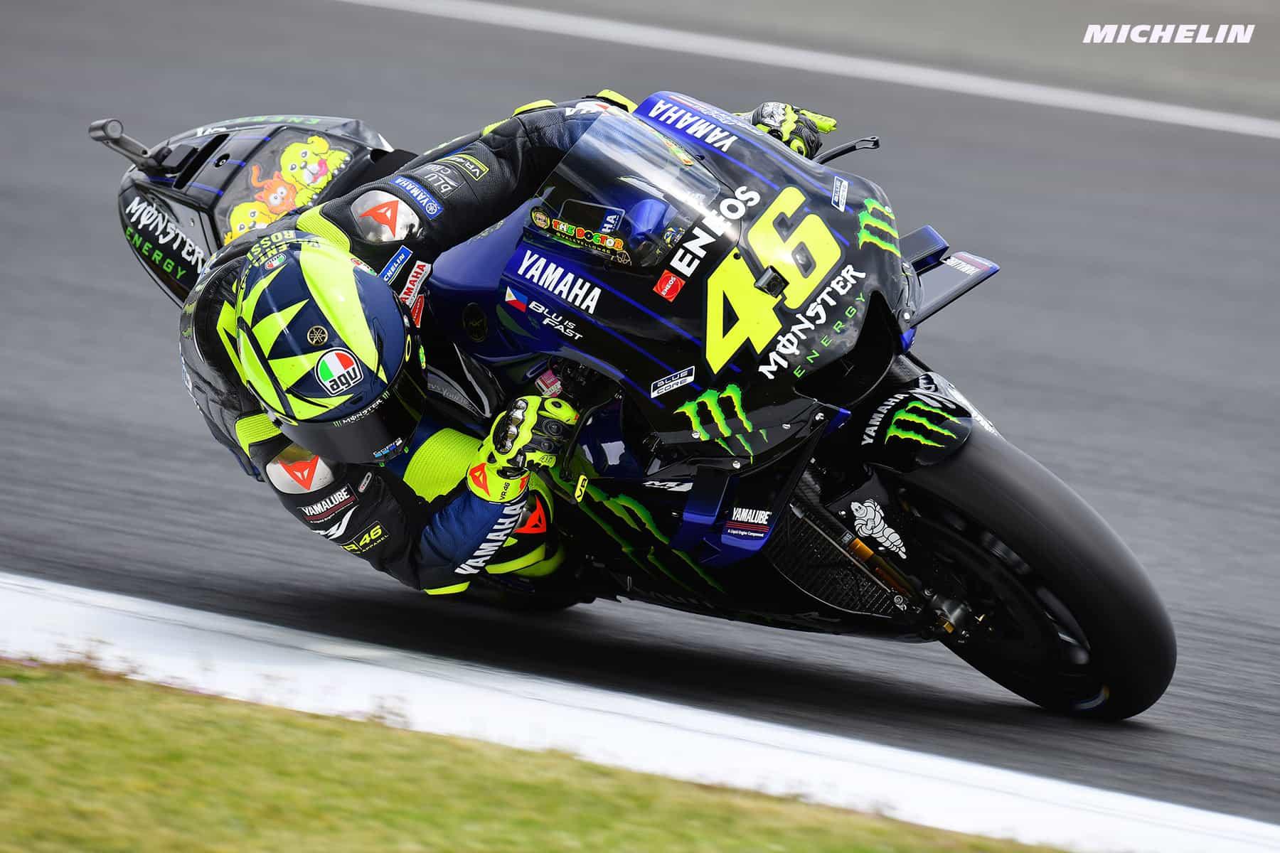 MotoGP2019イタリアGP ロッシ「ル・マンよりも戦闘力を発揮出来るはず」
