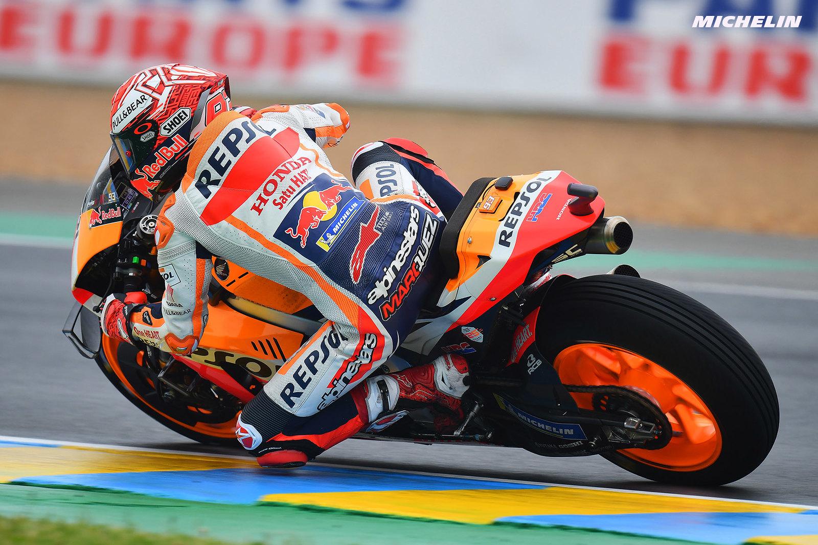 MotoGP2019フランスGP 予選1位マルケス「1周目は良い走行が出来ると思っていた」