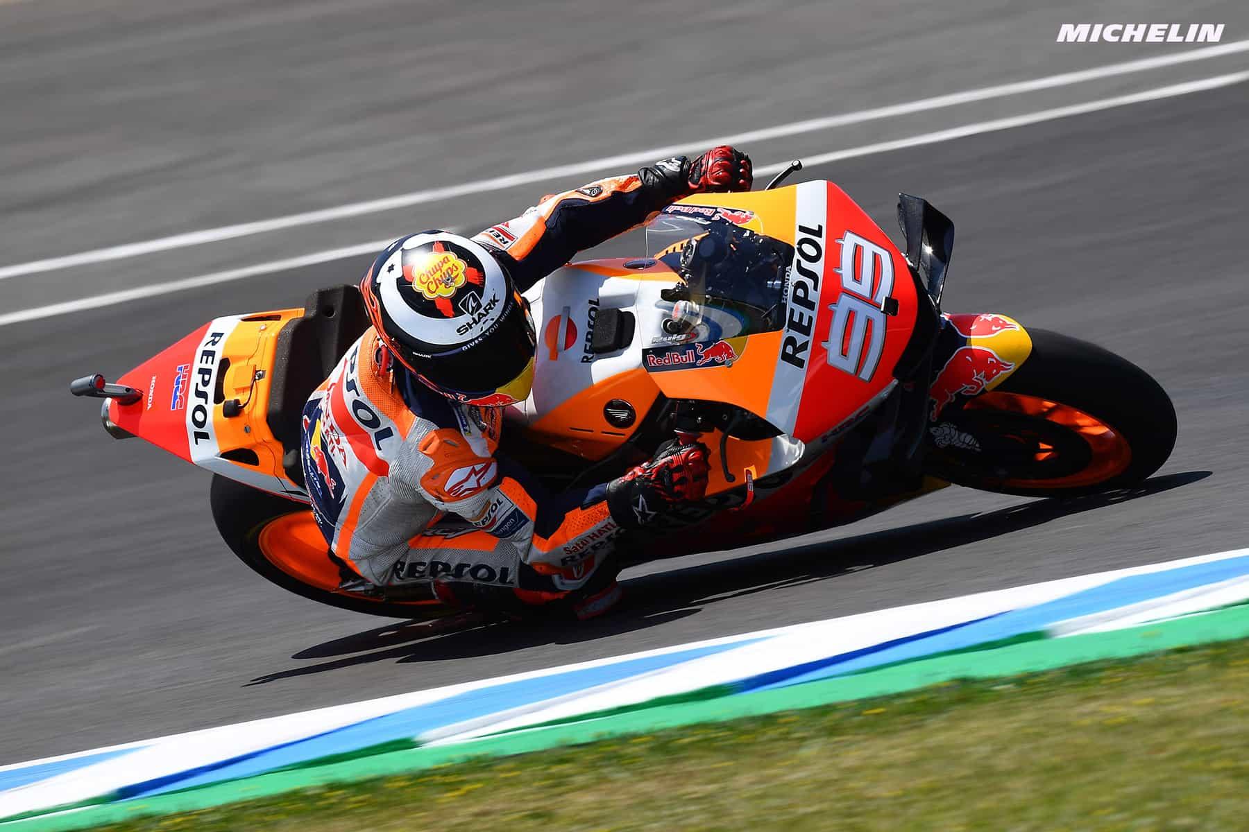 MotoGP2019ヘレスGP 予選11位 ロレンソ「フロントから転倒してしまった」