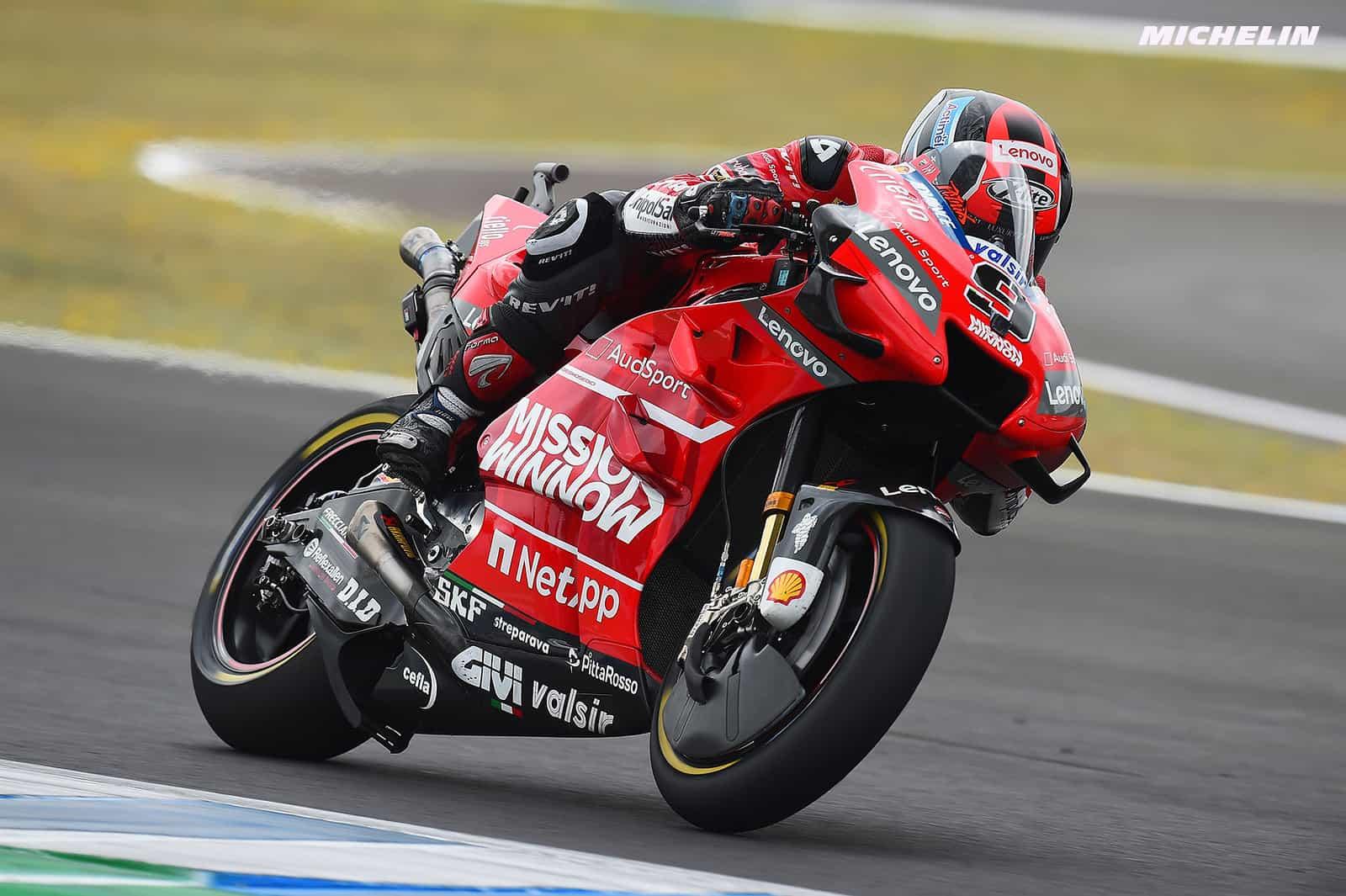 MotoGP2019ヘレスGP 予選7位ペトルッチ「フロントで走れるという自信がある」