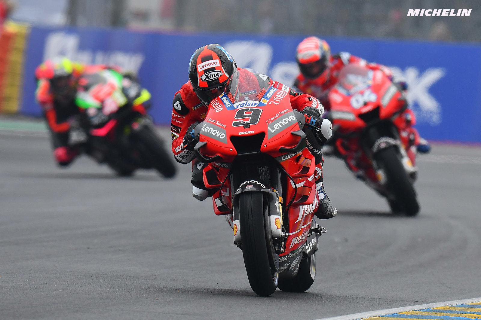 MotoGP2019フランスGP 予選2位ペトルッチ「ファクトリー加入後初の良い予選だった」