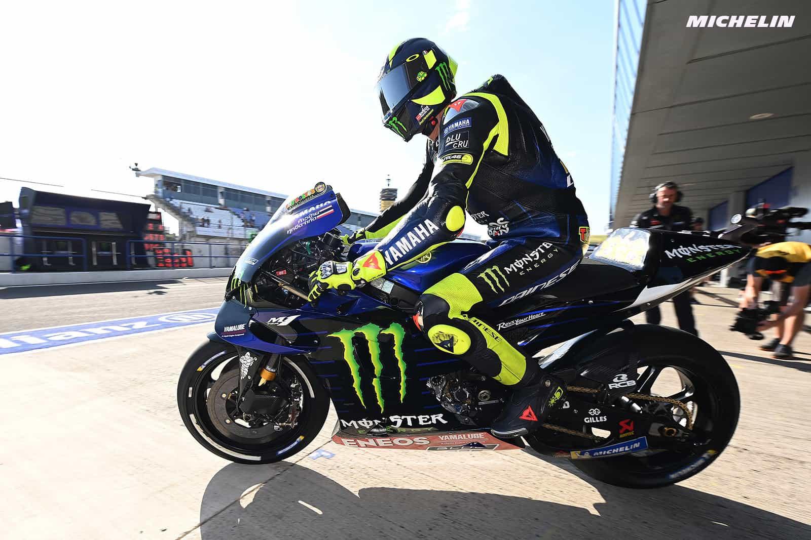 MotoGP2019ヘレスGP FP2 14位ロッシ「バイクのフィーリングが良くない」