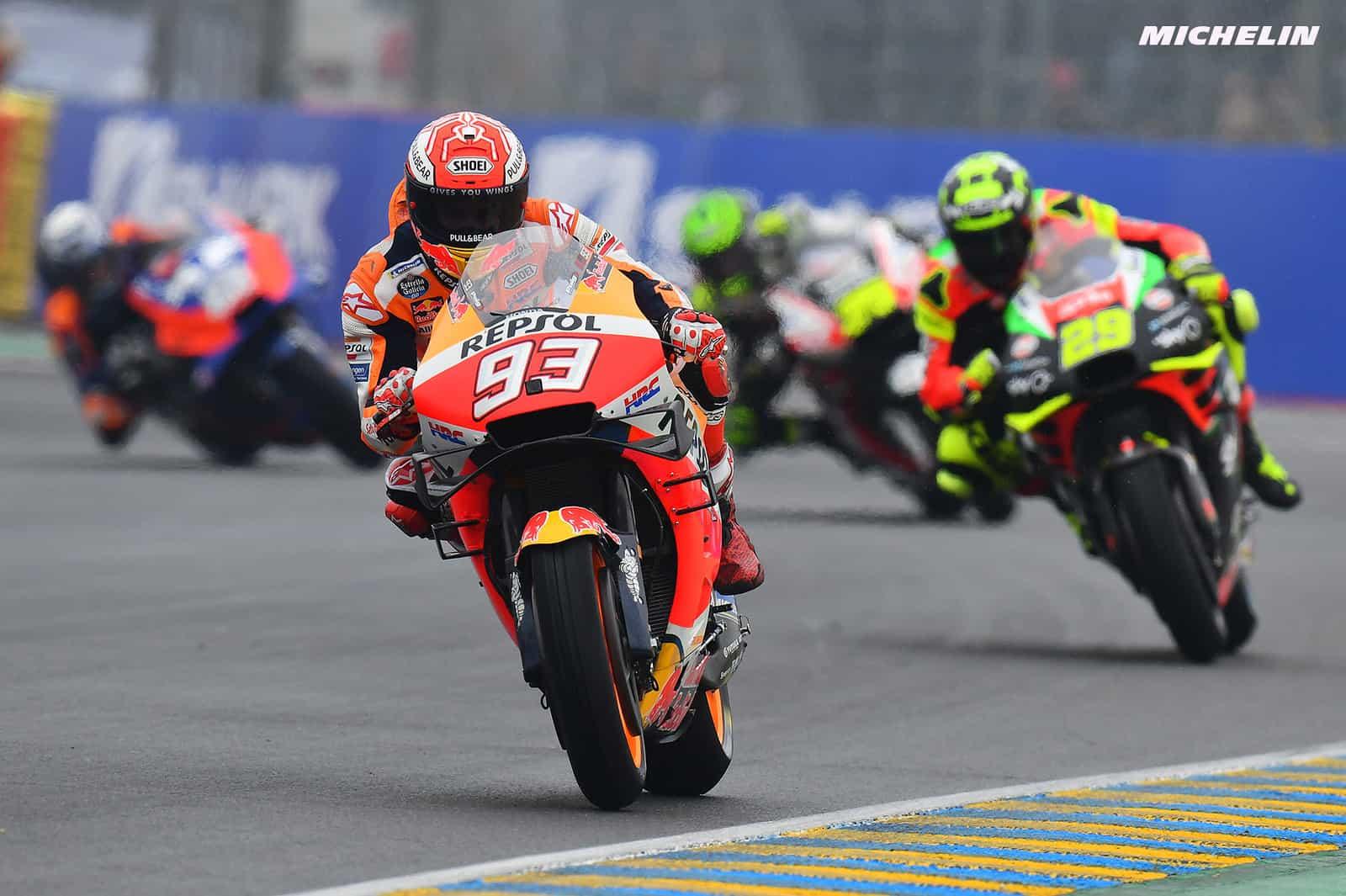 MotoGP2019イタリアGP マルケス「良いレースが出来るという自信がある」