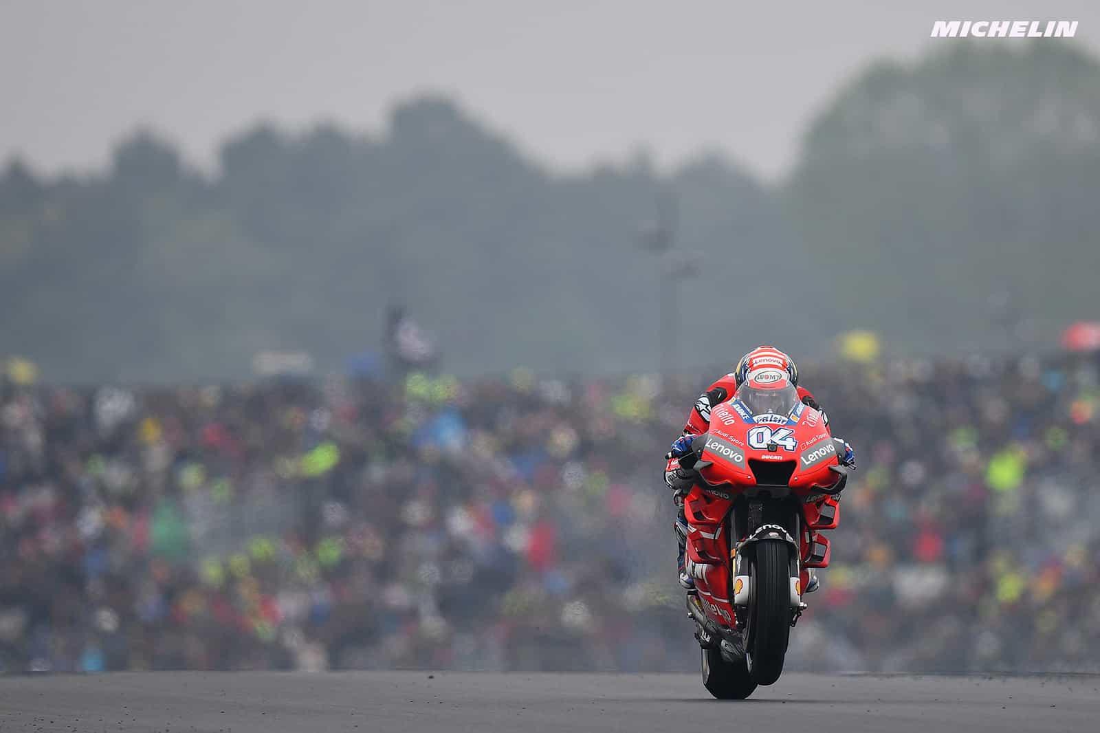 MotoGP2019イタリアGP ドヴィツィオーゾ「目標は再び表彰台を獲得すること」