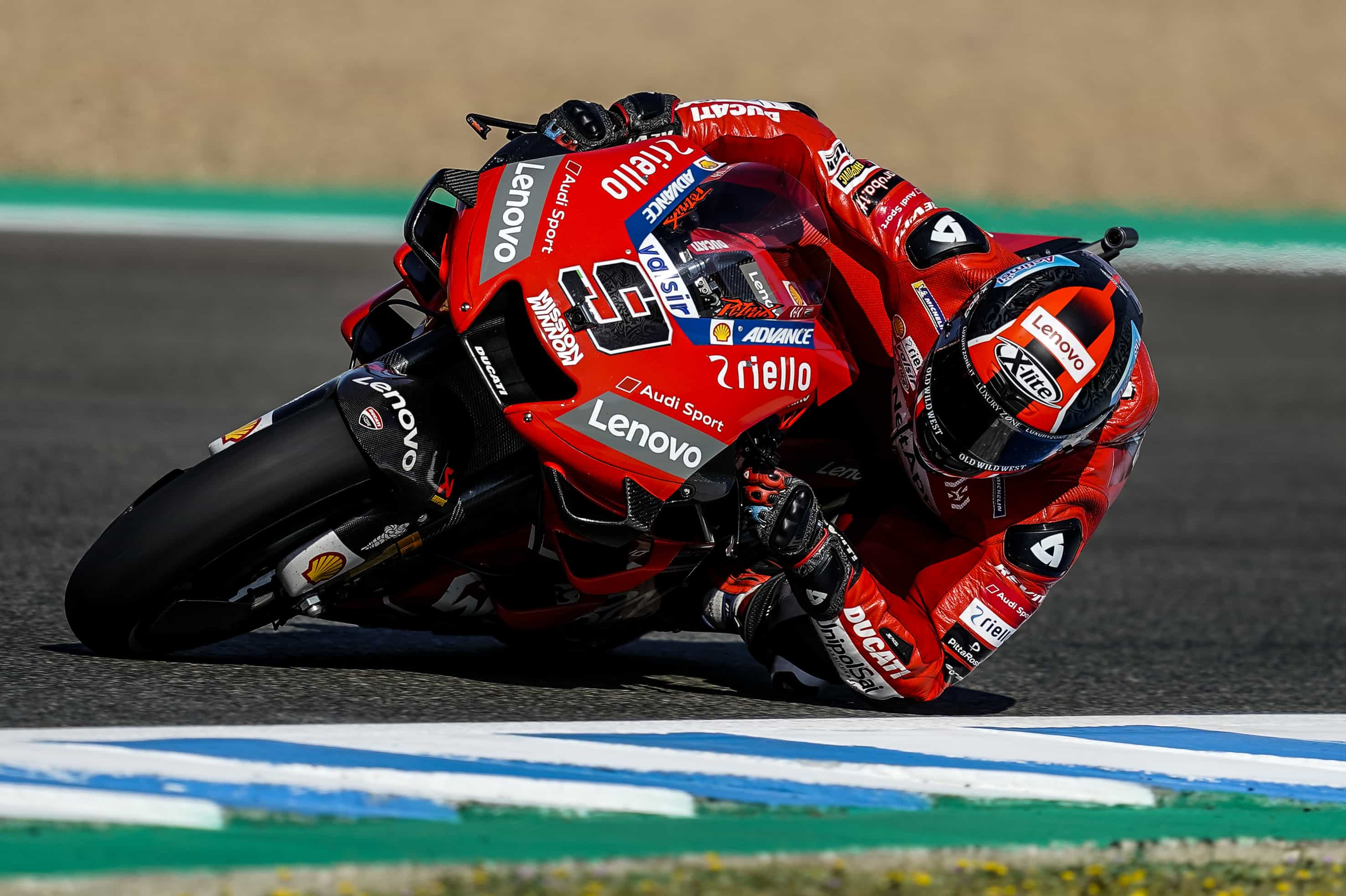 MotoGP2019ヘレスGP FP2 1位ペトルッチ「予選で前の列を獲得することが目標」