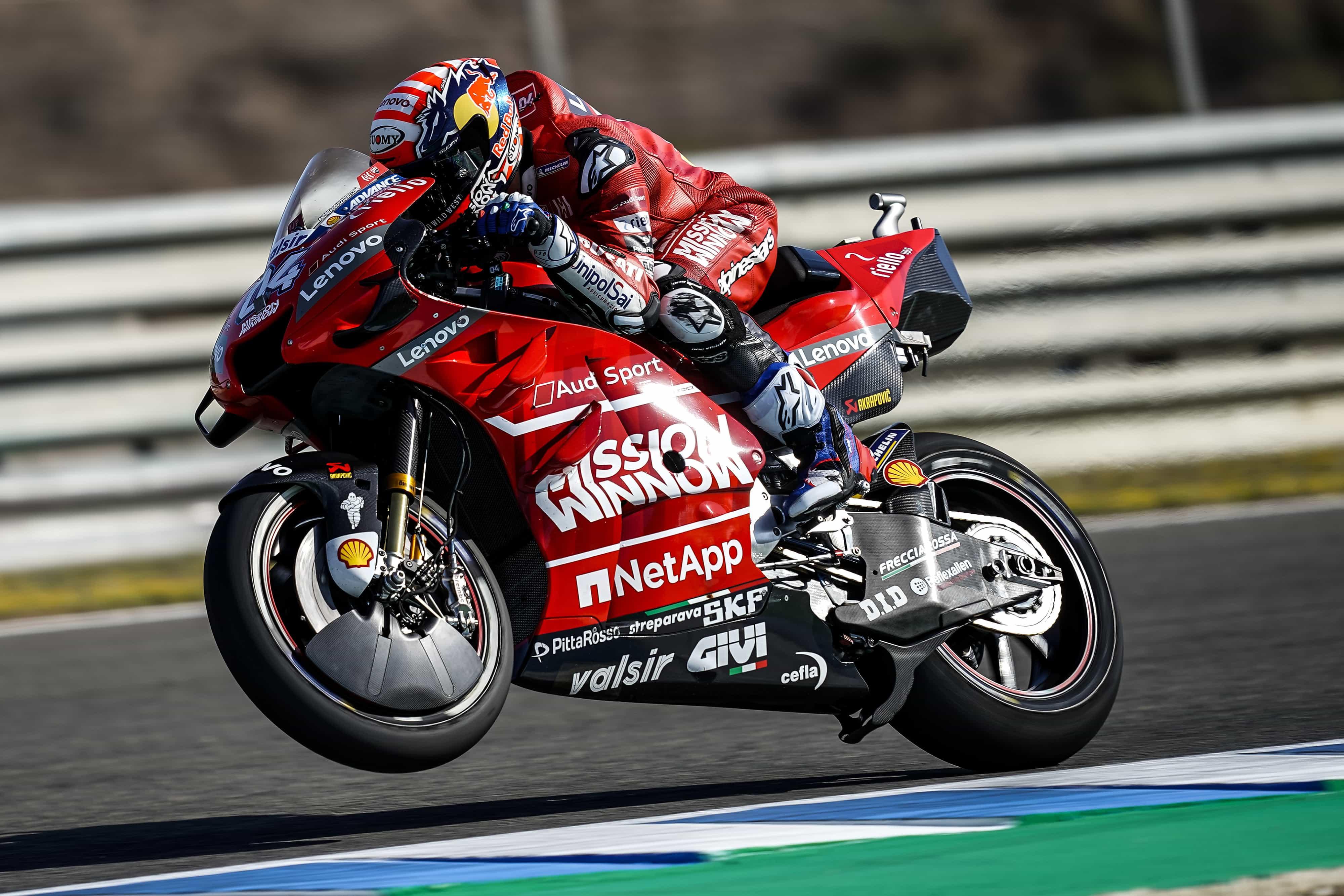MotoGP2019ヘレスGP FP2 2位ドヴィツィオーゾ「今の順位は実際の状況を表していると言えない」