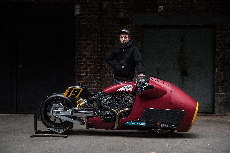 ランディ・マモラ Indian Motorcycleでサルタン・オブ・スプリントシリーズに出場