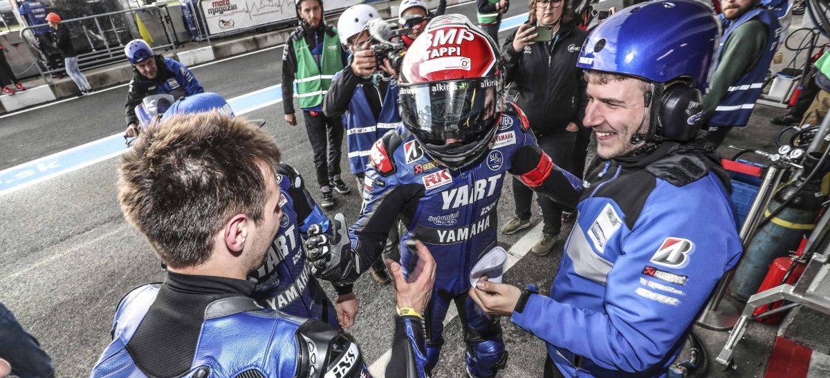スロベキアリンク8時間耐久レース YARTヤマハがポールポジションを獲得