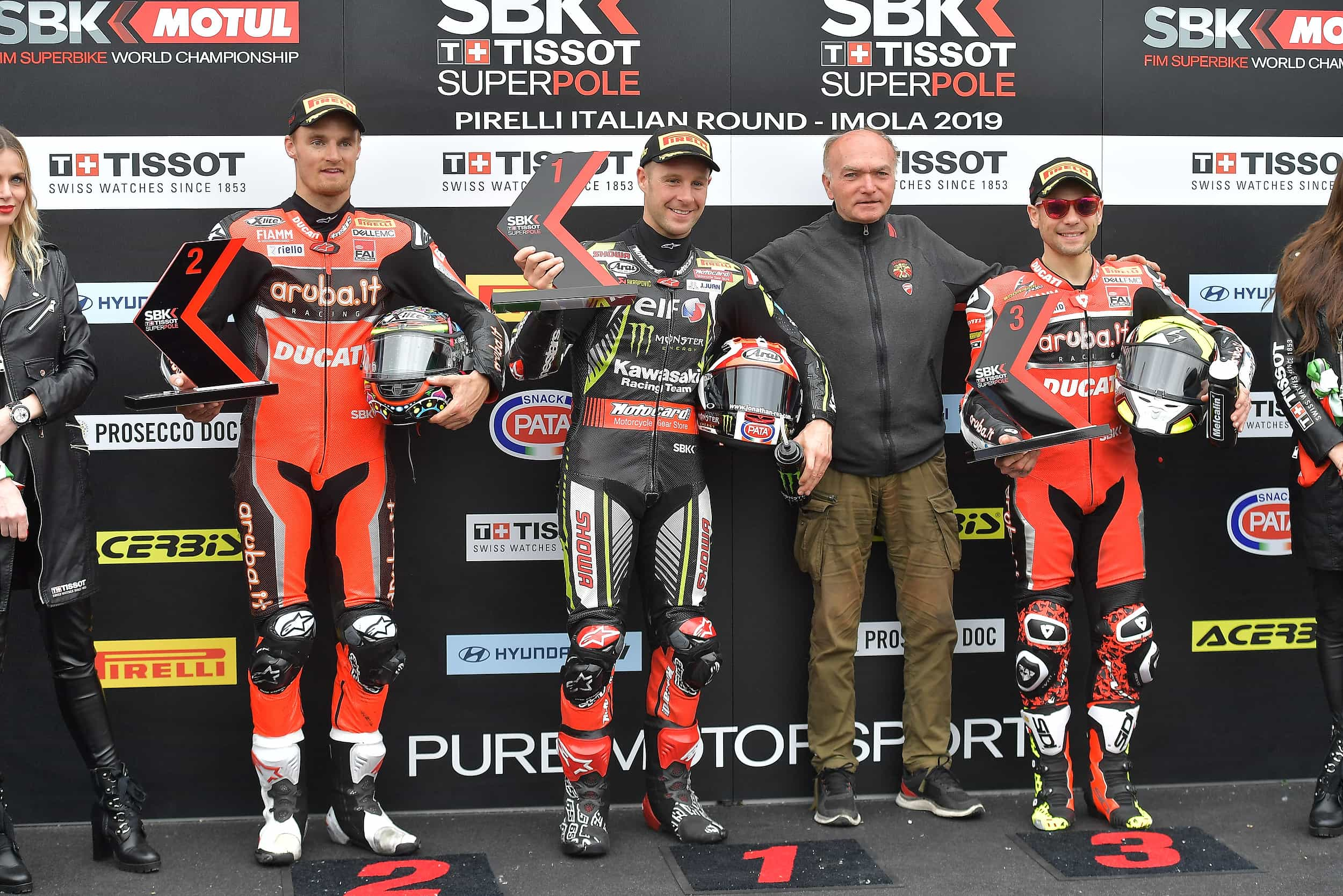 ジョナサン・レイがスーパーポールレースでも優勝 レース2とWorldSSP300 はキャンセル