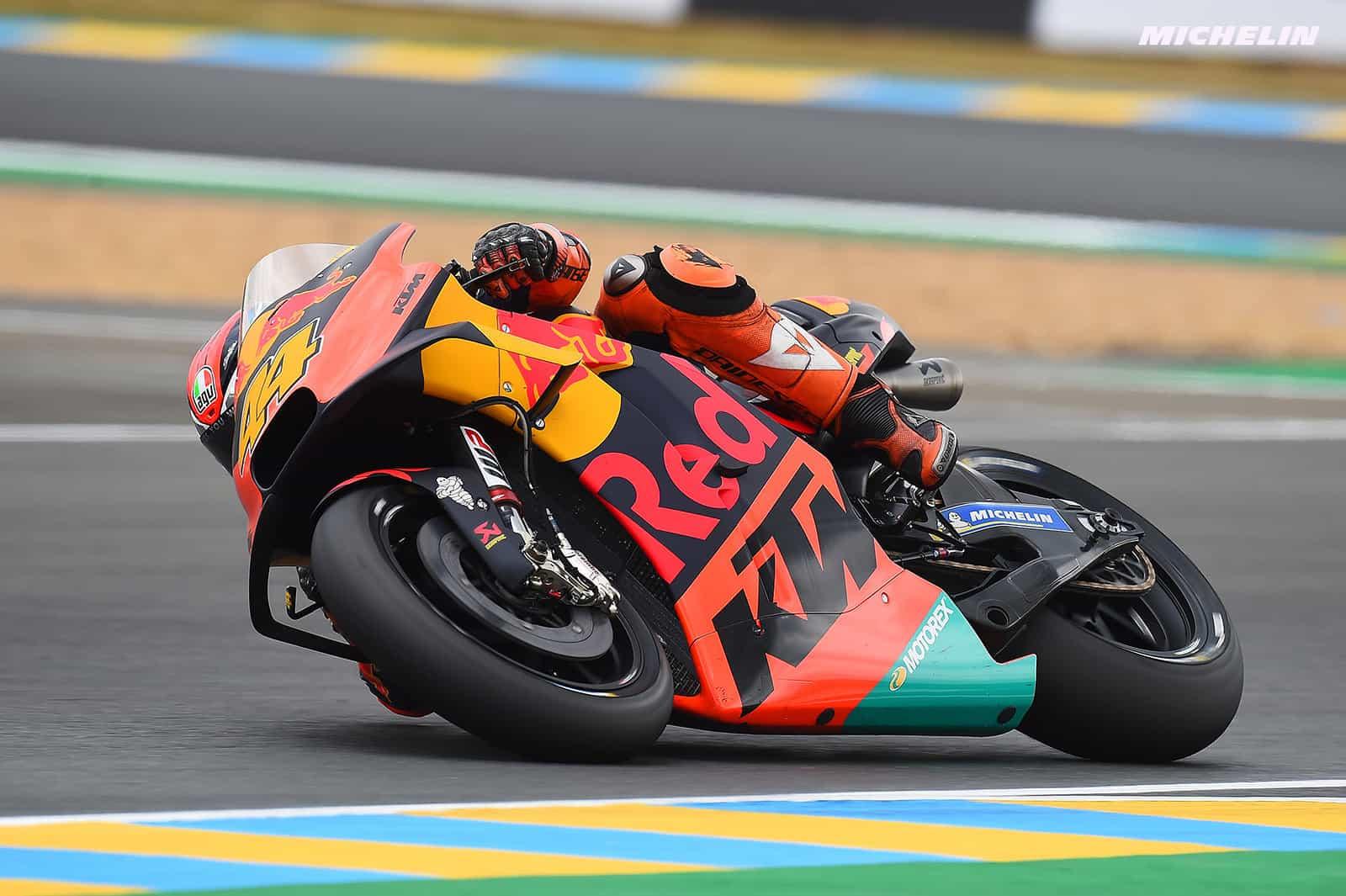 MotoGP2019 KTMが新たに採用したカーボンスイングアームのメリットとは?