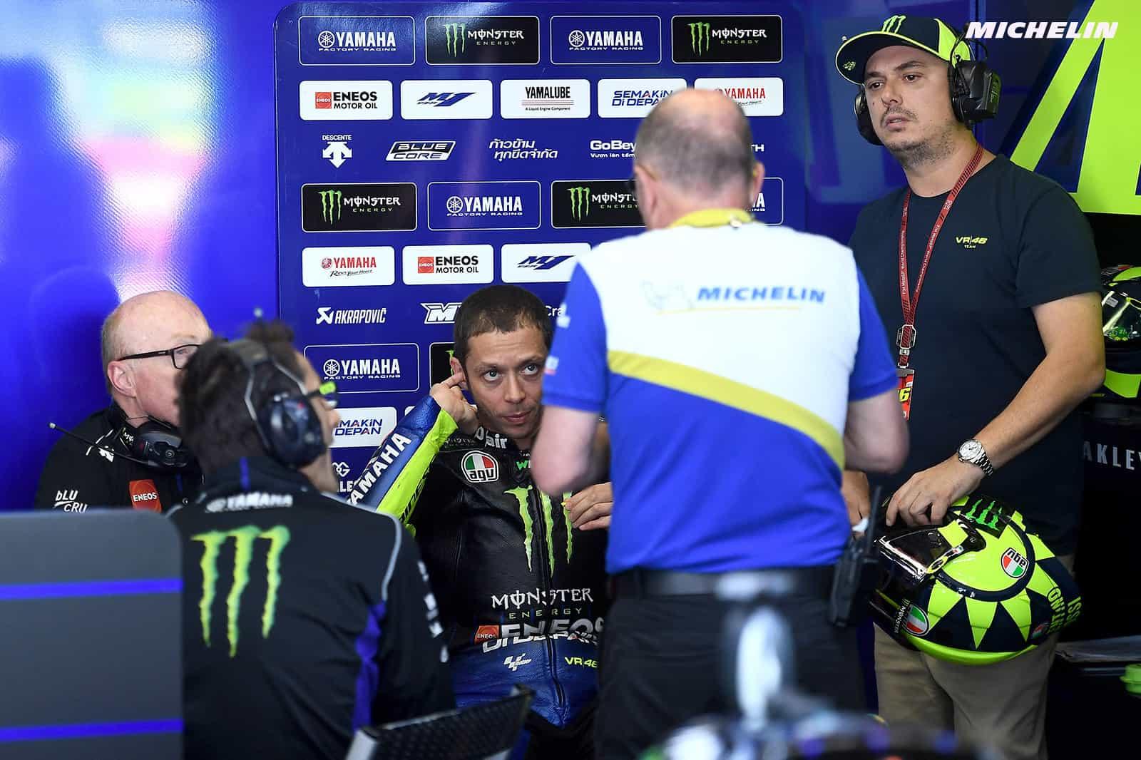 MotoGP2019イタリアGP ロッシ「トップスピード以外の部分の改善も必要」