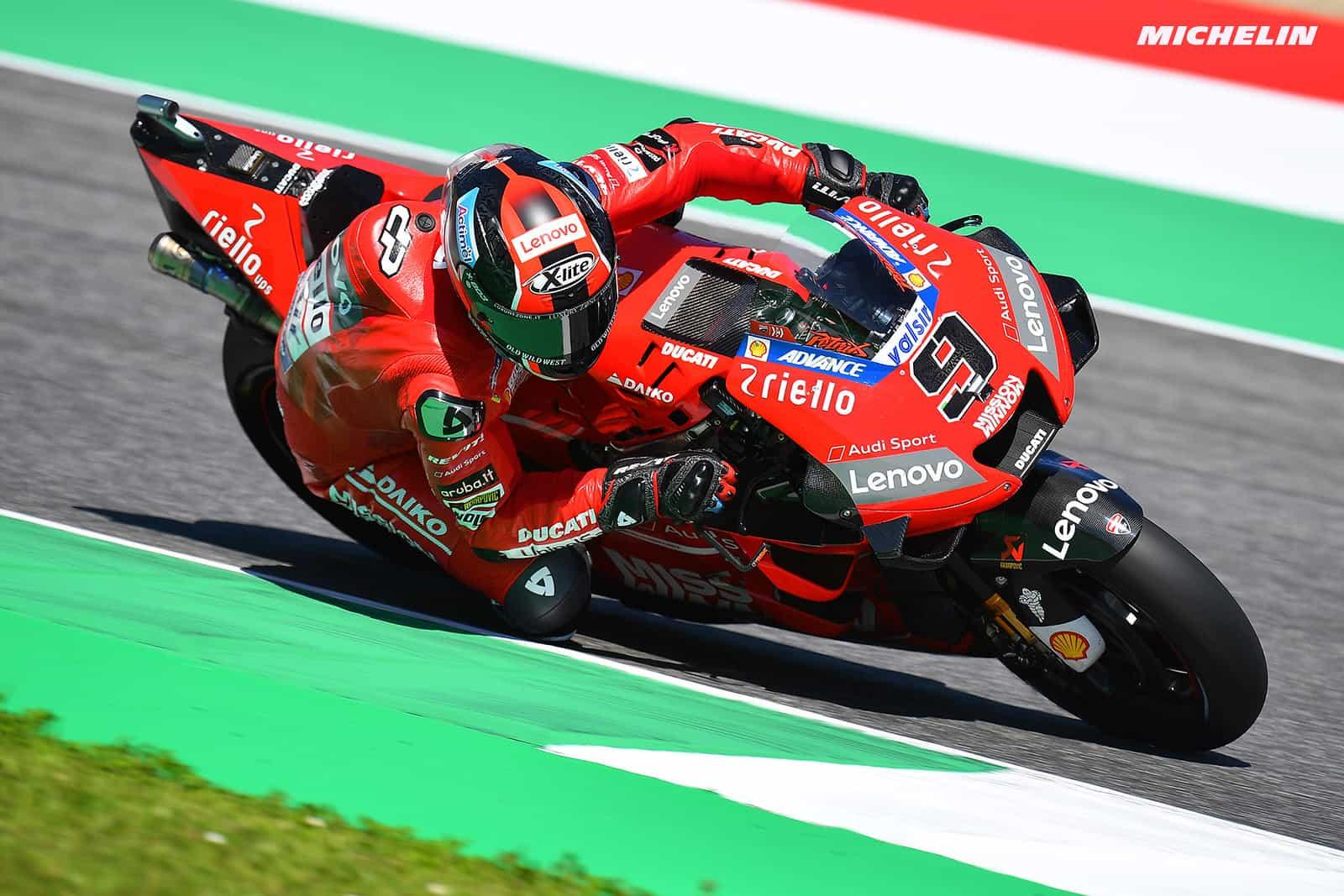 MotoGP2019イタリアGP ペトルッチ「目標はポールポジション」