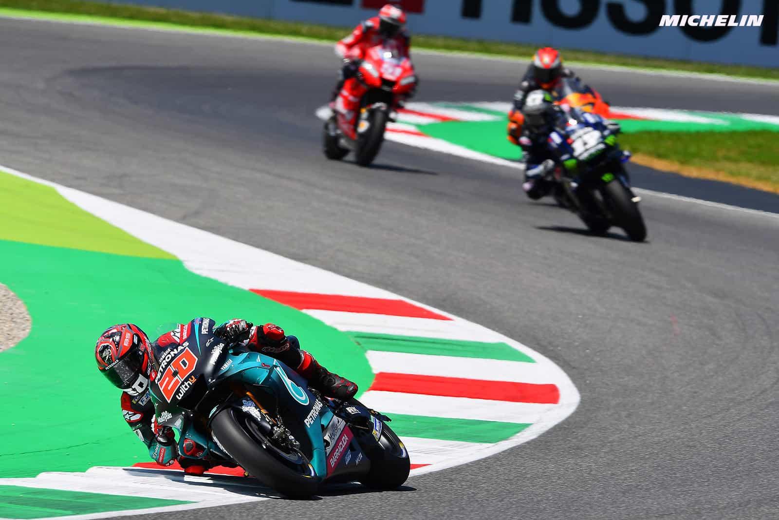 MotoGP2019イタリアGP ファビオ・クアルタラロ「腕上がりを解消して、カタルーニャGPに参戦出来る」