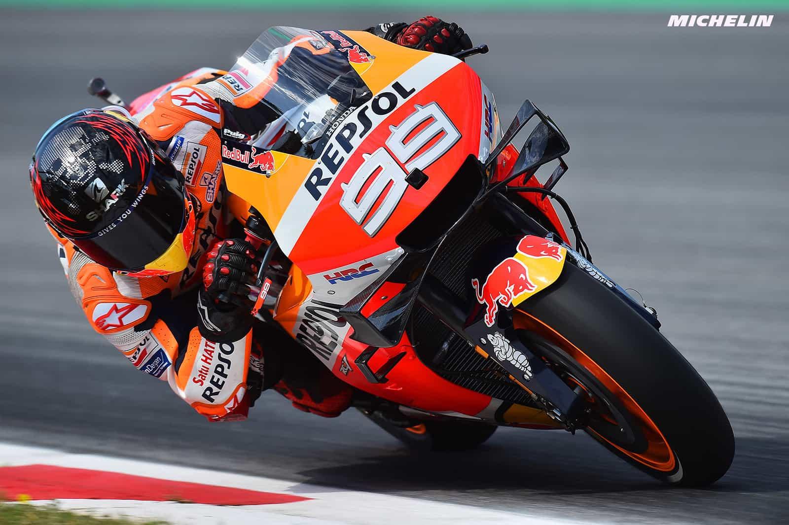 MotoGP2019オランダGP ロレンソ FP1の転倒で胸椎を損傷
