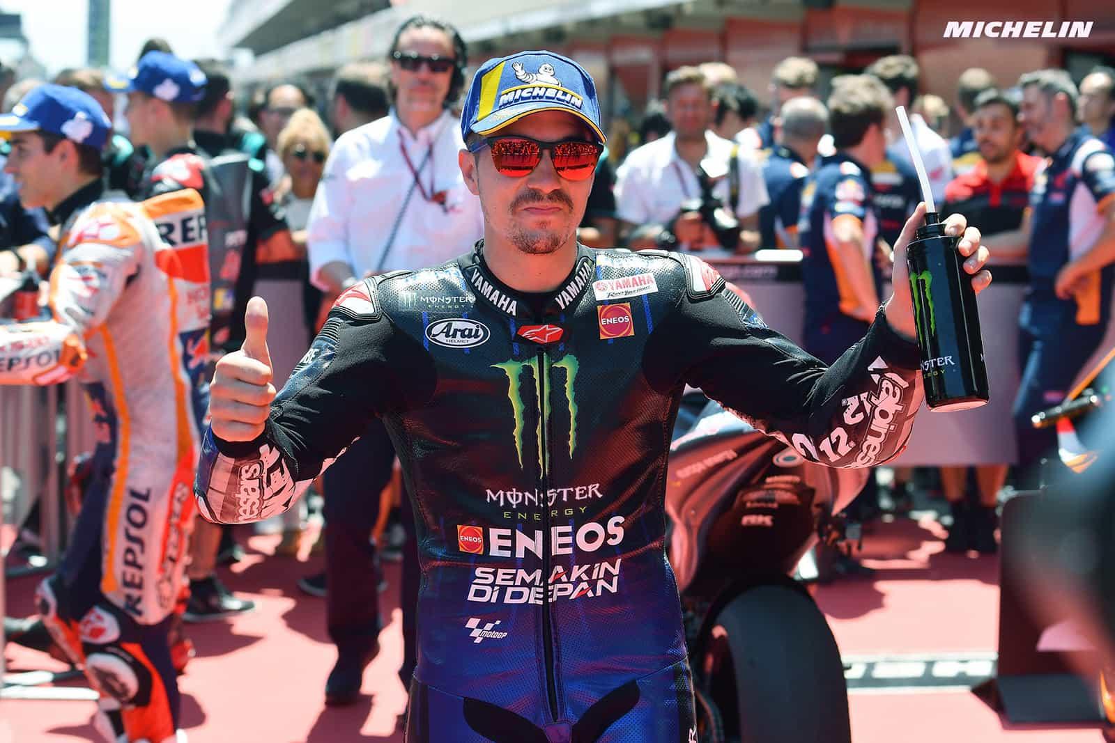 MotoGP2019カタルーニャGP 予選3位ビニャーレス「リアグリップが高いとスピードを発揮出来る」