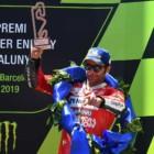 MotoGP2019カタルーニャGP 3位ペトルッチ「リアトラクションの不足に苦しんでいた」