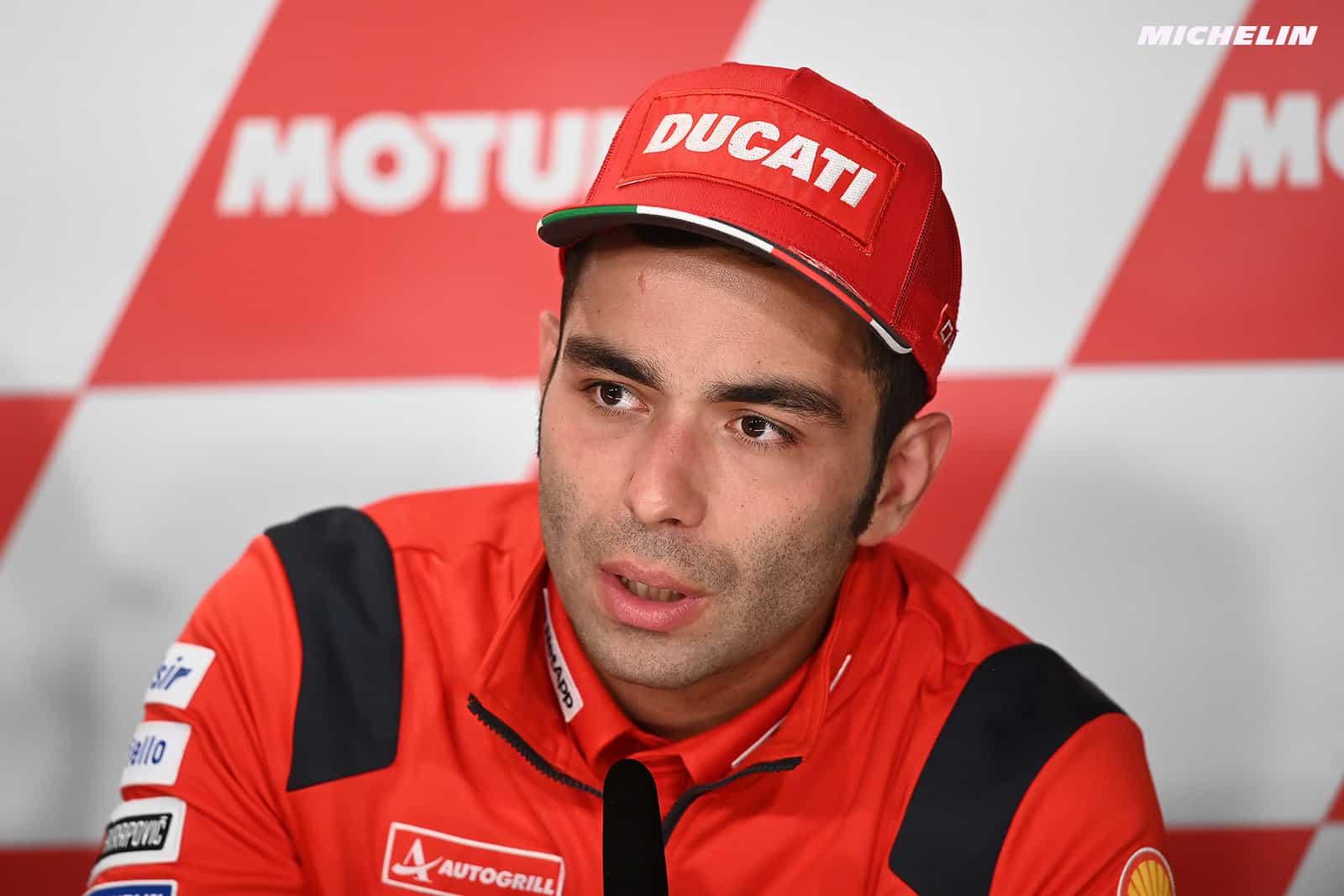 MotoGP2019オランダGP ペトルッチ「今週末も表彰台を狙う」