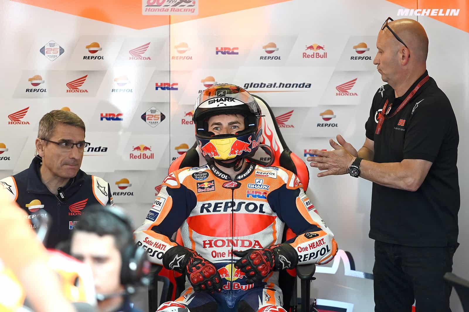 MotoGP2019オランダGP ロレンソ「ブルノでの復帰を目指したい」