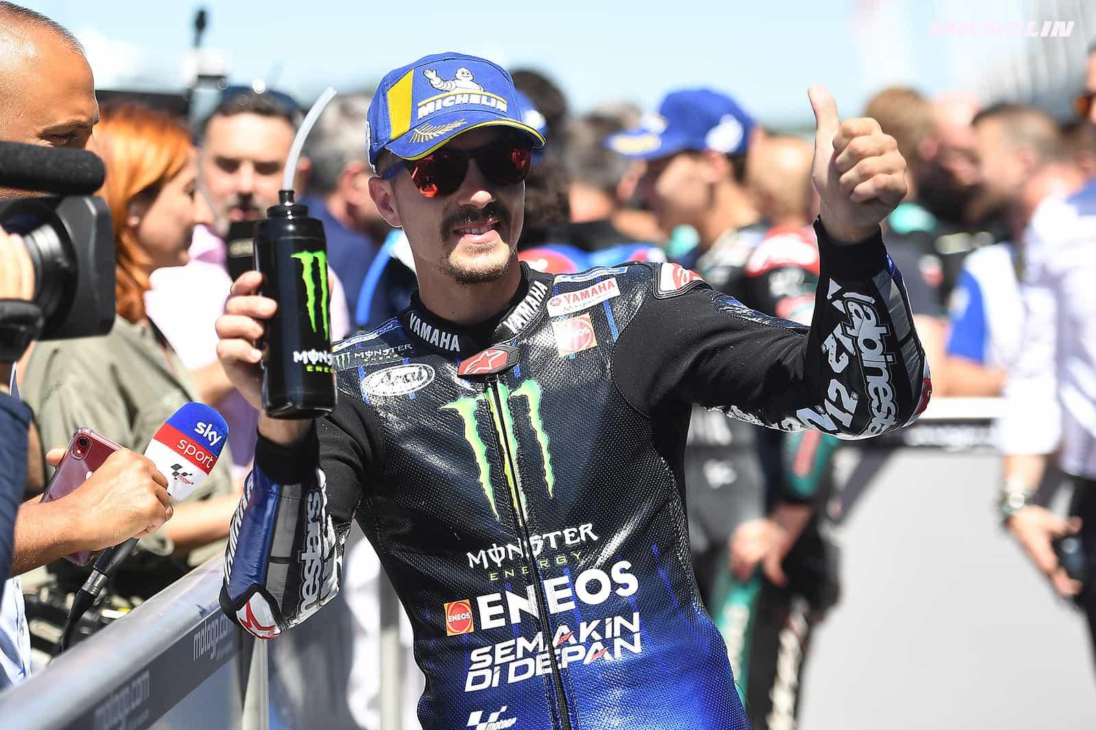 MotoGP2019オランダGP 予選2位ビニャーレス「自分のスタイルでライディングが出来ている」