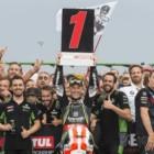 SBK第7戦ミサノ レース1優勝レイ「カワサキのバイクはしっかりと機能してくれた」